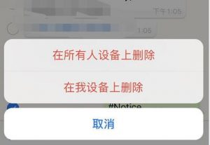 WhatsAPP如何撤回发出去的信息