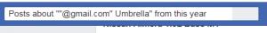 Facebook主页搜索框